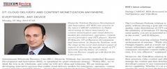 Article in Telecom Review (May 2014)